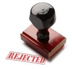 The Stamp of Rejection: Not Wanted!