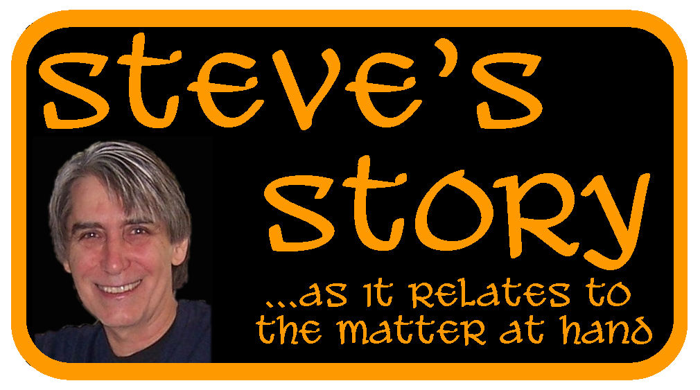 Steve's Story : Rescued from Hell : Autobiography