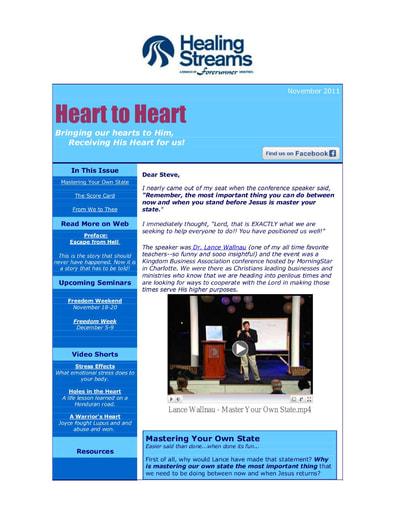 November 2011 eNews