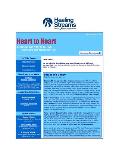 September 2011 eNews