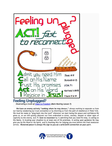 Feeling Unplugged?