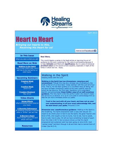 April 2011 eNews