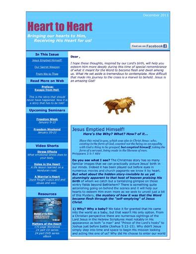 December 2011 eNews